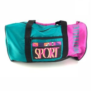 Vintage 90s | International Sports Duffle Bag